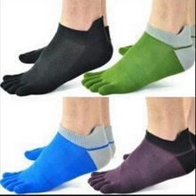 Moderné pánske nízke prstové ponožky z Aliexpress