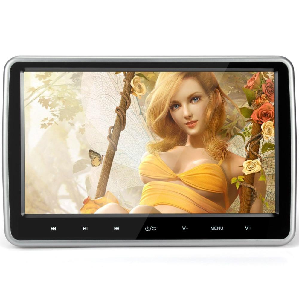 New Arrival 10 1 inch TFT HD Screen HDMI Car Headrest DVD Player Monitor High 1024
