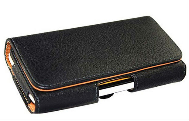 New Smooth pattern/Lichee pattern Leather Pouch phone bags cases with Belt Clip For Fly IQ4516 Cell Phone Accessories