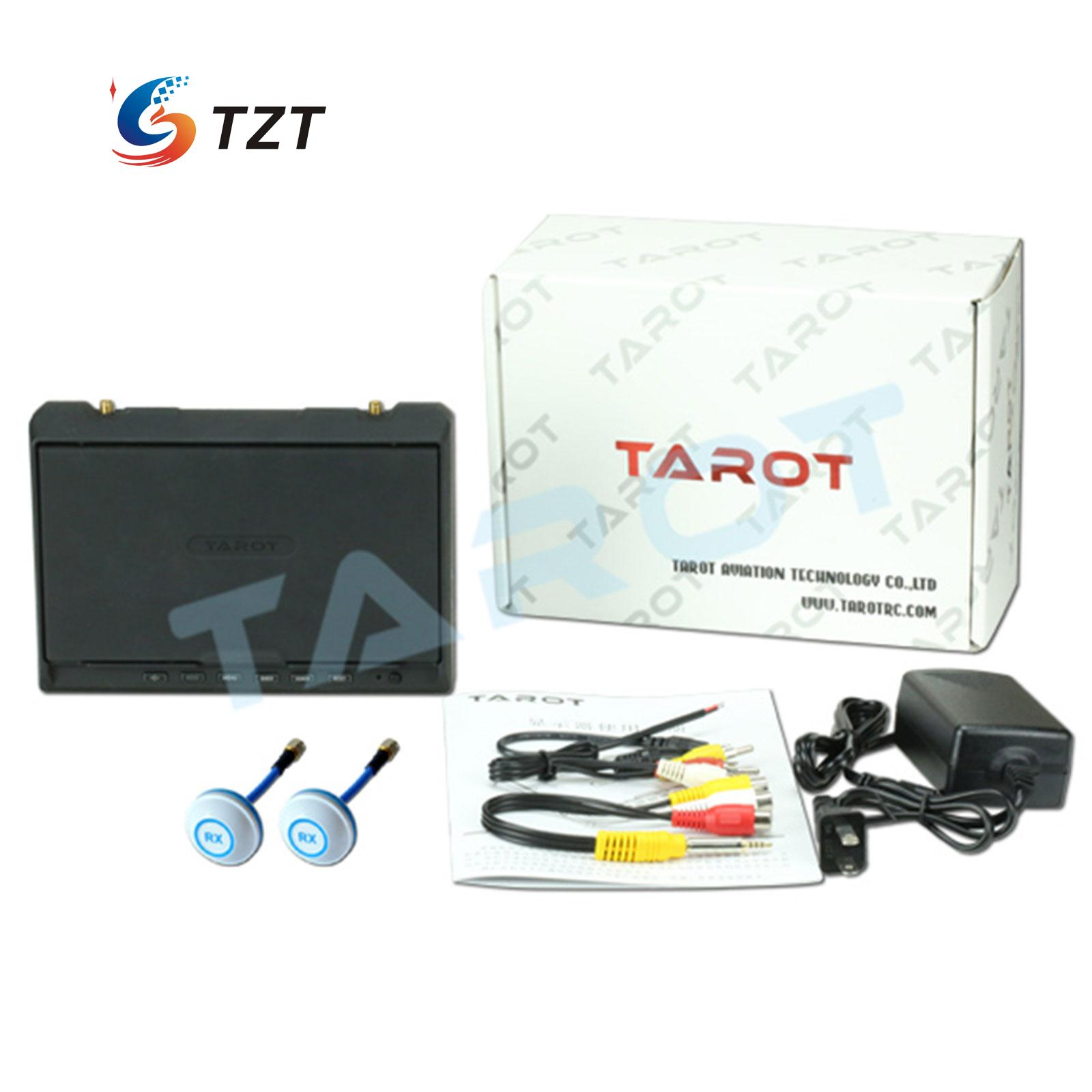 Tarot 5.8G 32CH Receiver Dual Receiving 7″ LCD HD Monitor for FPV Quadcopter Drone TL2967