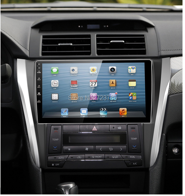 Pure Android 5.1.1 System Car Radio Auto Radio Autoradio Car dvd media stereo for Toyota Camry 2015