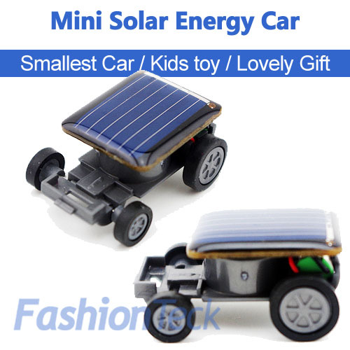 hot sale mini solar car energy power child kid toy car world smallest car gift teaching aid in. Black Bedroom Furniture Sets. Home Design Ideas