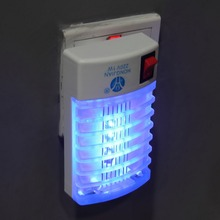 New 1Pc Mini LED Night Light Insect Mosquito Repellent Mosquito Flies HouseFly Killer Night Lamp Home Safe(China (Mainland))
