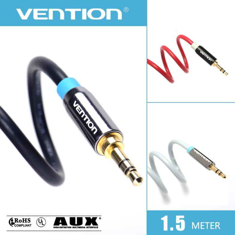 Vention 3.5mm audio cable male to male headphone splitter jack 3.5 speaker cable for CAR samsung Ipad Iphone 4 5 6 S(China (Mainland))