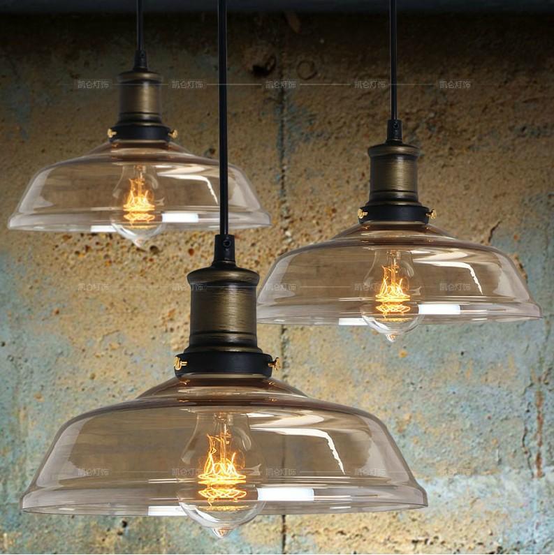 vintage industriale lampadario in vetro moderno e minimalista camera da letto ristorante ...