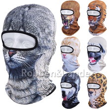 New 3D Animal Balaclava Hunting Outdoor Halloween Party Paintball Sport Hats Motorcycle Skiing Cycling Protection Full Face Mask(China (Mainland))