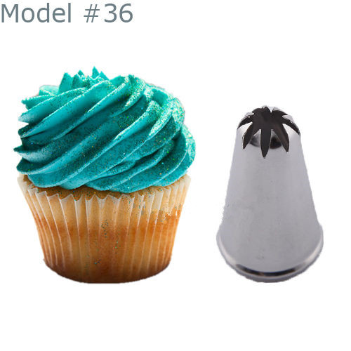 New Fashion Drop Flower Icing Piping Nozzle Cake ...