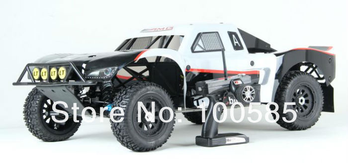 1/5 scale 27.5cc 4WD LT RC TRUCK 2.4G RTR(China (Mainland))
