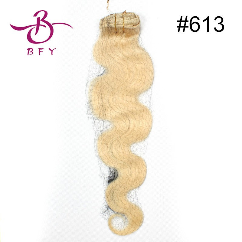 7A Wet and Wavy Virgin Brazilian Hair Aliexpress UK Clip In  Human Hair Extensions Natural Hair #01 Jet Black 20inch 8pcs 160g