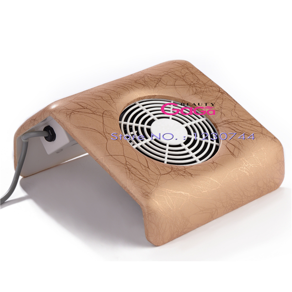 Beauty GaGa Nail Art Manicure Equipment Dust Suction Strong Fan Nail Dust Collector 100V-240V US/EU Plug Nail Art Tools(China (Mainland))