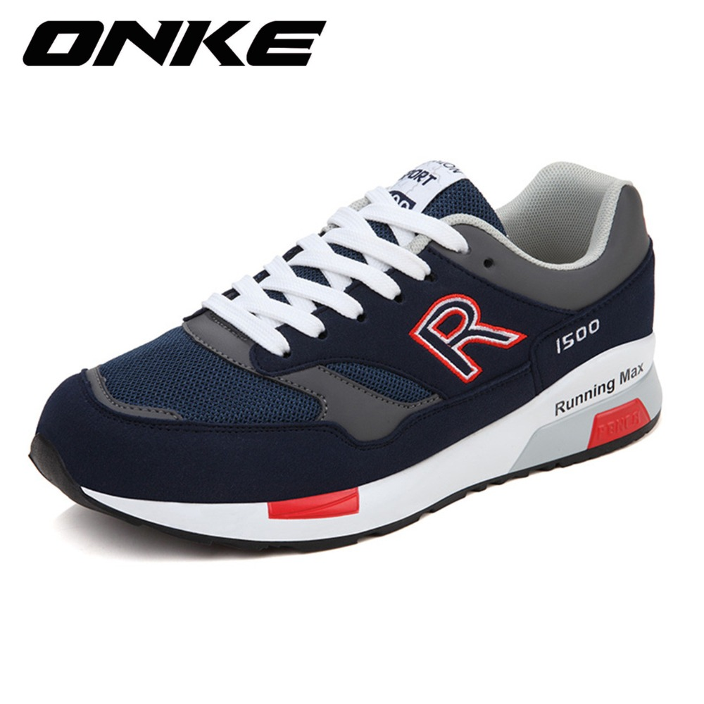 2016 nubuck leather sneakers runner sport shoes