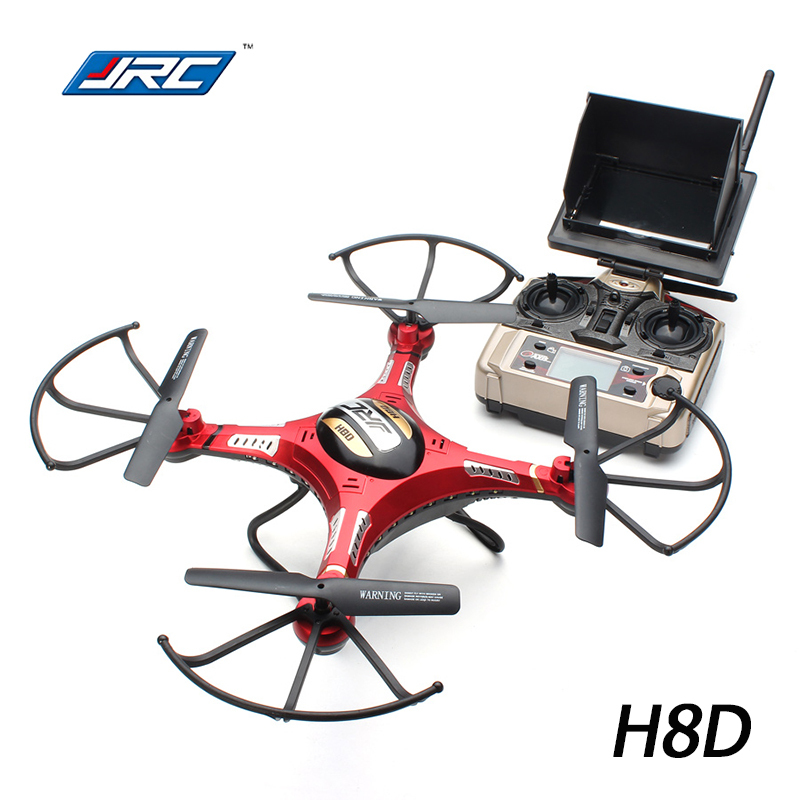 Newest Drone JJRC H8D 2 4Ghz Headless Mode 1 Key Return RC Quadcopter 5 8G FPV
