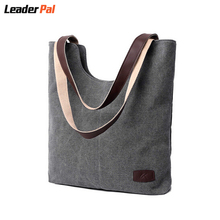 Fashion Women Canvas Handbag Travel Shoulder Bags Causal Ladies Handbags Female Shoulder Tote Bags Bolsas New Arrival 2016