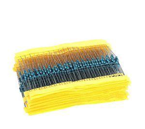 Гаджет  Holiday Sale 600 Pcs 1/4W 1% 20 Kinds Each Value Metal Film Resistor Assortment Kit Set Free Shipping None Электронные компоненты и материалы