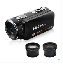 """Full HD 1080p Digital Video Camera fotografica Support Face Detection Camcorder 3.0"""" Touch Screen 24MP 16x Zoom Recorder(China (Mainland))"""