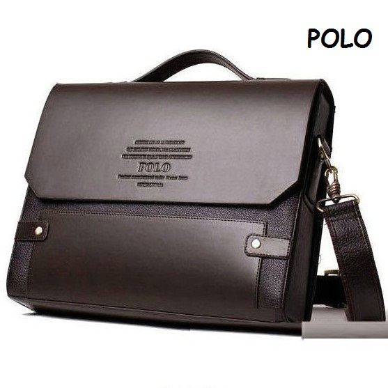 Polo Briefcase Shoulder Bag – Shoulder Travel Bag