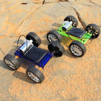 Mini Solar Powered Robot Car Toy 2pcs Per Set(China (Mainland))