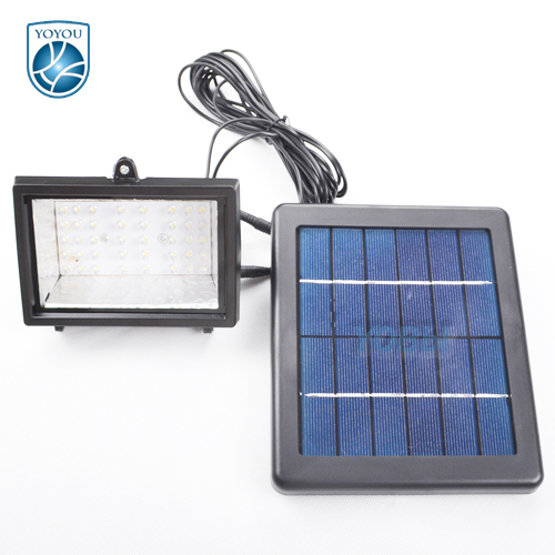2015 New! 40LED Solar Flood Light Spot Light LED Garden Light Wall Ground Mounted Landscape ...