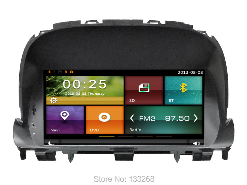 Cartouch(R) Car Audio Sat Nav GPS with Bluetooth/ Mirroring/ RDS/ Wifi/ 3G/ Radio for Opel Encore support OBD/ TPMS/ Park Sensor(China (Mainland))