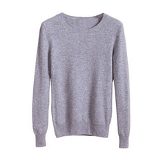 Autumn Winter Womens Pullover Sweater 2015 Women O-neck Long Sleeve Women's Cashmere Sweater Female Color Block Shirt AC087(China (Mainland))
