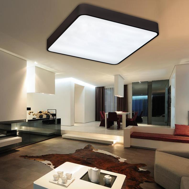 Free shippingmodern led ceiling light decorative home for Lighting for new homes