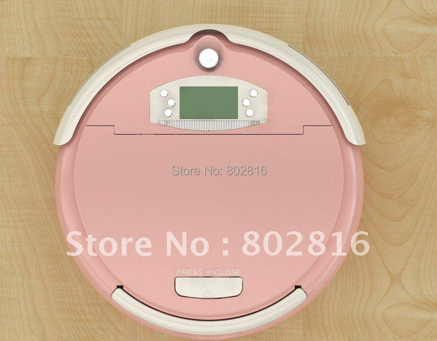 Free Shipping For Russian Buyer/The Largest Dust Bin 1L Robot Vacuum Cleaner +Moping Function+Remote Controller