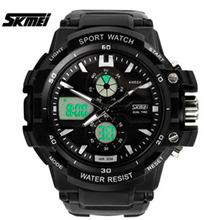 Fashion Digital watch Skmei 0990 military sport watches men luxury brand LED watch men quartz waterproof  relogio masculino