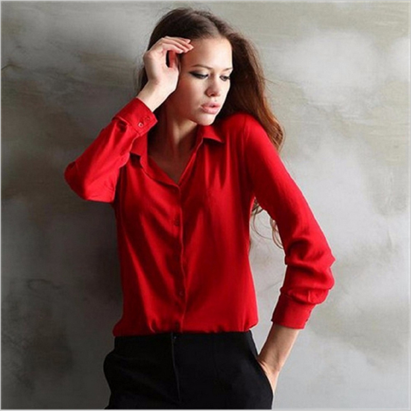4 colors 2016 women's work wear Polo Shirts Polo Shirts elegant ladies formal office large size XXL