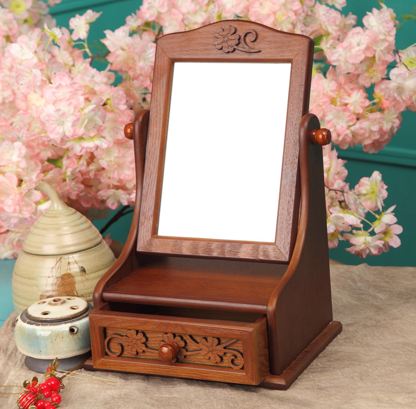 Compra tablas de madera espejo de online al por mayor de for Aparadores con espejo