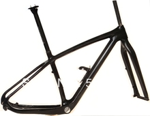"FR219 : 3K Carbon 29ER MTB Mountain Bike Frame ( BB30 )  FORK + Seatposst + Water Bottle Cage  15.5"", 17.5""  , 19"" FRAME(China (Mainland))"