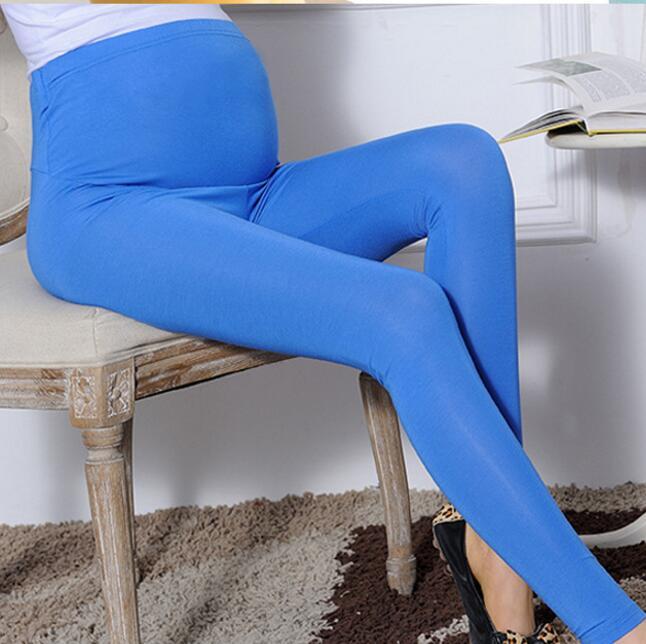 Modal Pants for pregnant women pregnant women pantyhose leggings long thin adjustable prop belly pants feet pants summer<br><br>Aliexpress