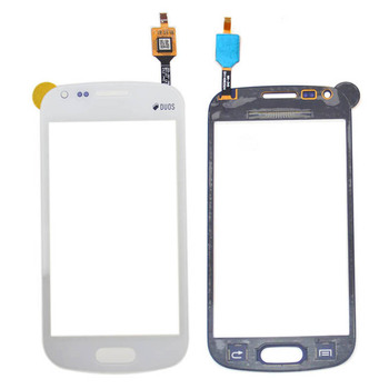 For Samsung for Galaxy Trend Plus S7580 S Duos 2 S7582 White Touch Screen with Digitizer, free shipping!!
