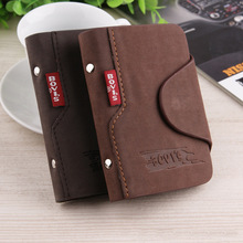 New Fashion Leather Credit Card Holder Business Cards Cover Bags Card Organizer Bag
