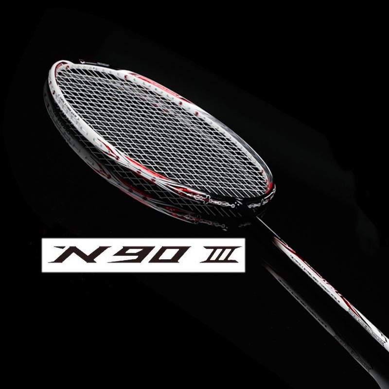 li ning badminton racket lining racket N90iv carbon badminton racquet li-ning N90 iii 4(China (Mainland))