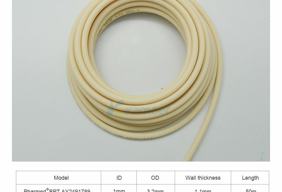 PharMed BPT Tubing for Peristaltic Pump (from Saint-Gobain, Food Safe, Anti-corrosion, Water Tube, Chemicals Tube, Long Life)