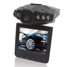 HD 1280P 2.5'' LCD Vehicle Car DVR recorder 6 LED light with Audio & NightVision DHL FREE(China (Mainland))