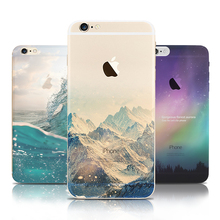 Ultra Thin Soft Silicon Fashion Transparent Back fundas coque For iPhone 6 case for iphone 6s case Plus phone cases Cover(China (Mainland))