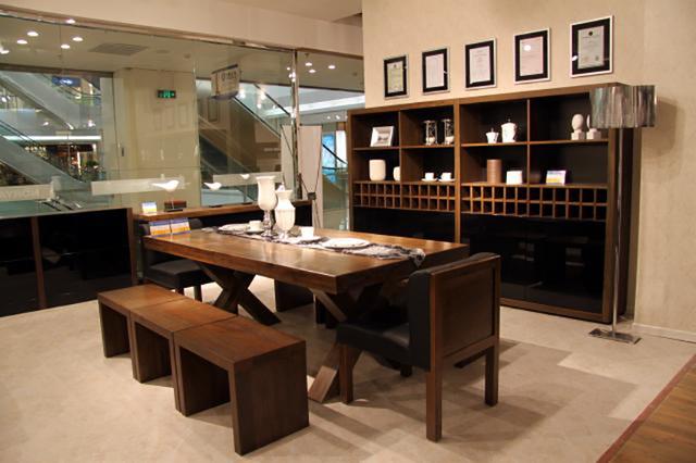 Moveis Para Sala De Jantar Em Madeira ~ Mesas de jantar em madeira maciça americano X perna de de trabalho de