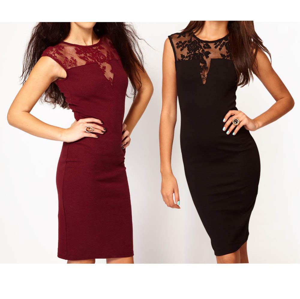 Женское платье Bodycon o FE1417 #Y6