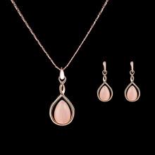 Indische Farbe Perlen Schmuck Sets Für Frauen Afrikanischen Erklärung Halsband Halskette Und Ohrringe Set Mode Schmuck(China)