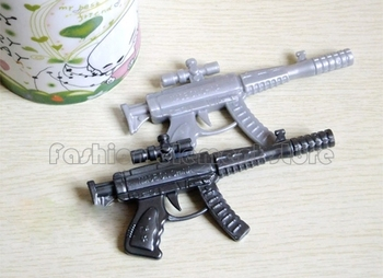 Bulk of 20pcs Kids Boy Collectors Party Bag Stationery Novelty Machine Gun Weapons Ball Point Pen