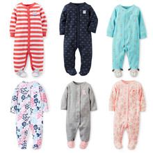 Baby Rompers! New Spring Autumn Newborn Children Clothes Baby Boy Girl Cotton Clothes Long-Sleeve 0-12M Kids Baby Clothing(China (Mainland))