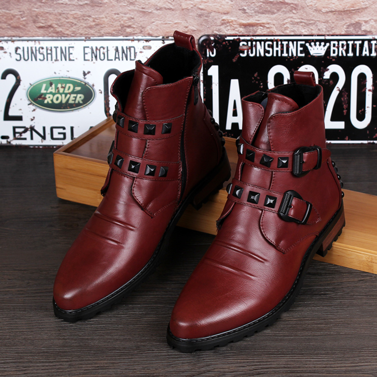 Online Get Cheap Mens Leather Boots Sale -Aliexpress.com   Alibaba ...