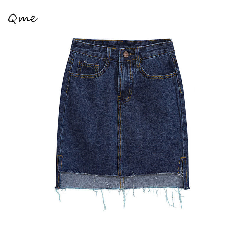 women denim skirt midi pencil skirt saia jeans saia feminina jupe crayon jupe femme faldas 2015. Black Bedroom Furniture Sets. Home Design Ideas