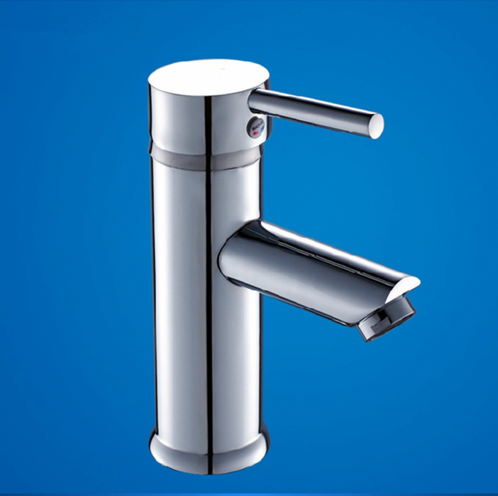 Free shipping High quality Brass Chrome Waterfall Bathroom Basin Faucet Single Handle Sink Mixer Tap,torneira faucet supplier(China (Mainland))