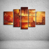 oil paintings hand painted painting on canvas home decoration Modern abstract oil Painting wall  XD5-091