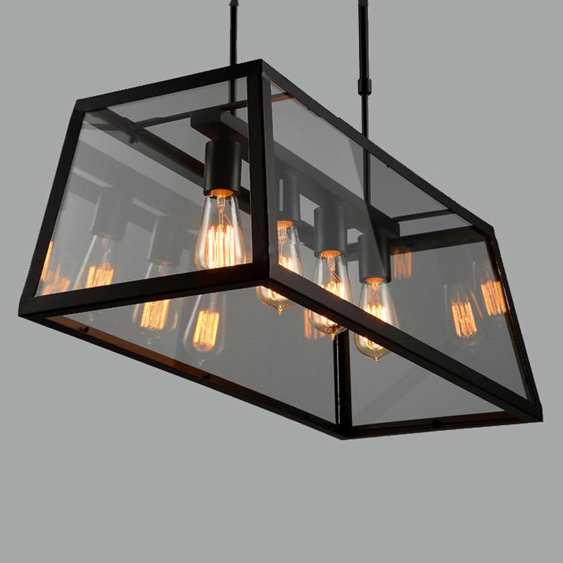 achetez en gros rectangulaire en verre lustre en ligne des grossistes rectangulaire en verre. Black Bedroom Furniture Sets. Home Design Ideas