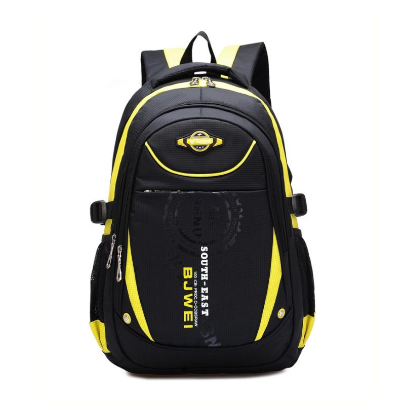 Гаджет  2015 orthopedic children school bags for boys large capacity nylon school backpack student bookbag kids bagpack mochila escolar None Камера и Сумки