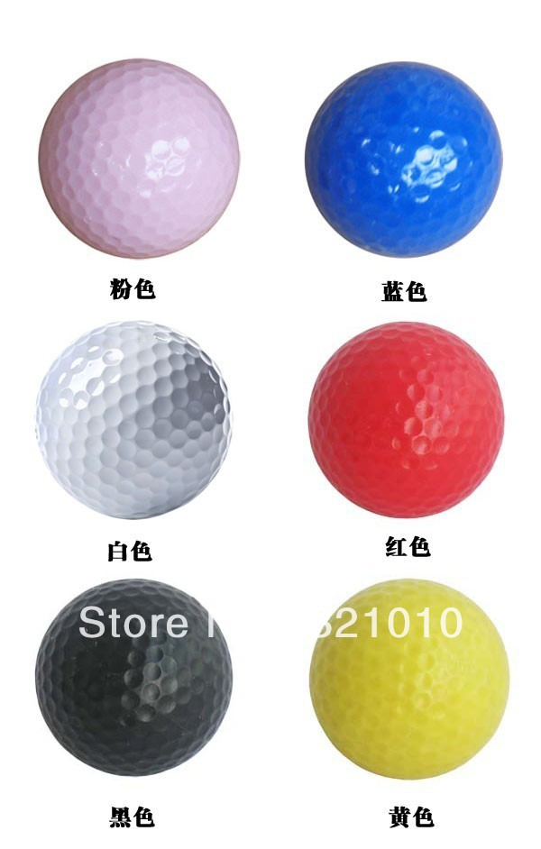 free shipping New and original Golf ball have three piece ball Hot salling(China (Mainland))