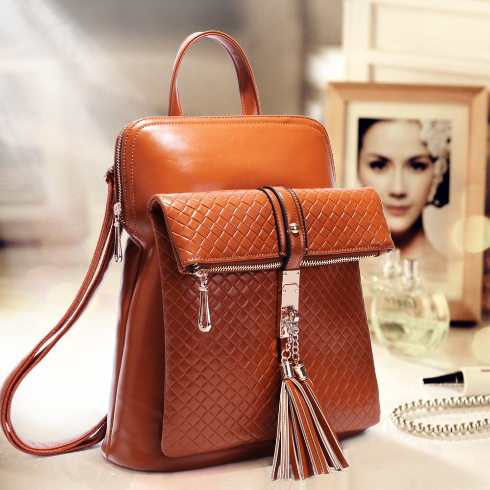 Leather Womens Backpack - Crazy Backpacks